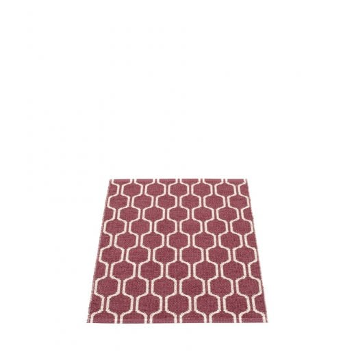 Pappelina Hexagon Style Mat/Rug - Rose/Vanilla