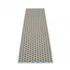 NOA Pappelina Mat/Rug CHARCOAL/WARM GREY 70X250CM