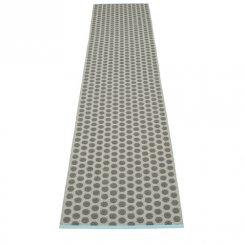 NOA Pappelina Mat/Rug CHARCOAL/WARM GREY 70X350CM