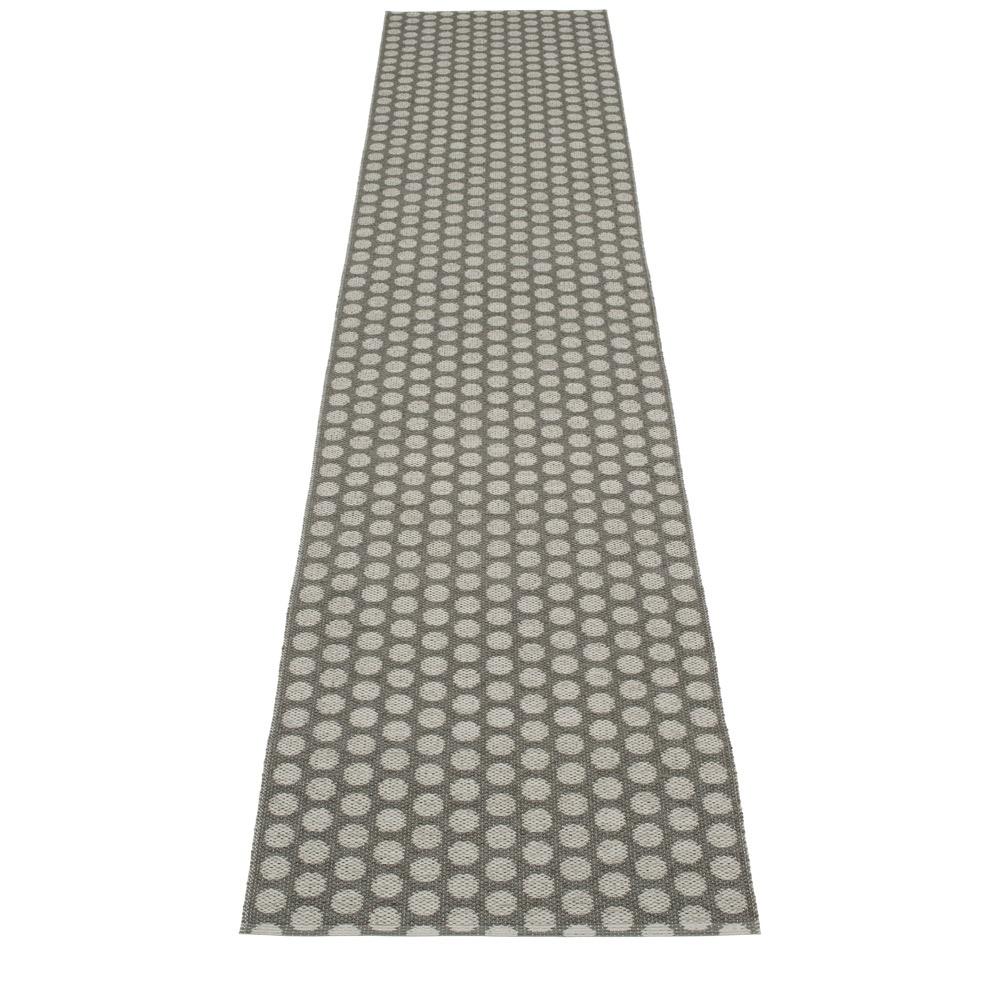 Pappelina noa pappelina mat rug charcoal warm grey for Charcoal grey bathroom accessories