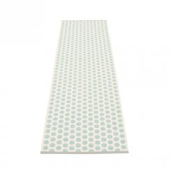 NOA Pappelina Mat/Rug PALE TURQOUISE/VANILLA 70X250CM