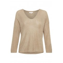 Part Two BedaPW Pullover - Pale Gold