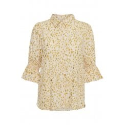 Part Two Caias Shirt - Gold Dot