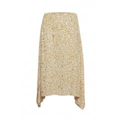 Part Two Carla Skirt - Gold Dot