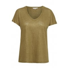 Part Two Chamie T-shirt - Antique Bronze