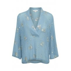 Part Two Cillia Blouse - Blue