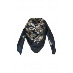 Part Two Gabinka Scarf - Artwork Dark Blue