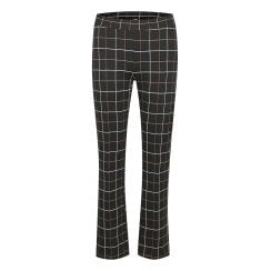 Part Two Ilisan Trousers - Black Big Check
