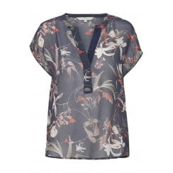 Part Two Lightweight V Neck Blouse