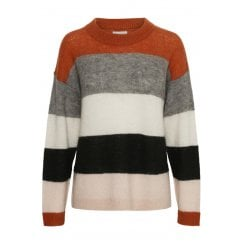 Part Two Mibby Jumper - Artwork Dark Orange