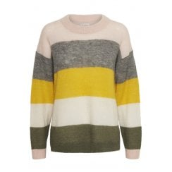 Part Two Mibby Jumper - Artwork Medium  Yellow
