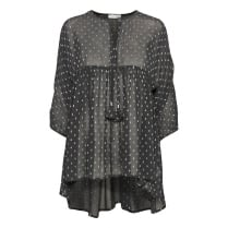 Part Two Semi Sheer Tunic with Tassels
