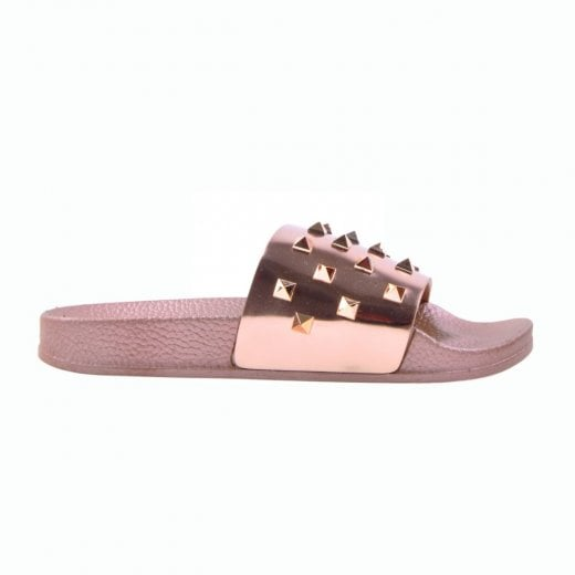 Petit by Sofie Schnoor Slippers with Rivets - Gold