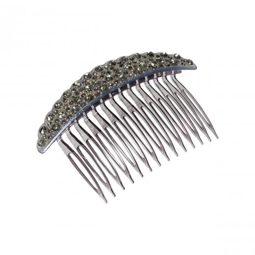 Pico Crystal French Comb - Anthracite