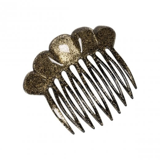 Pico Fan French Comb - Gold