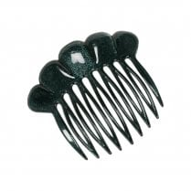 Pico French Fan Hair Comb - Green