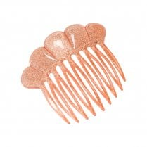 Pico French Fan Hair Comb - Pink