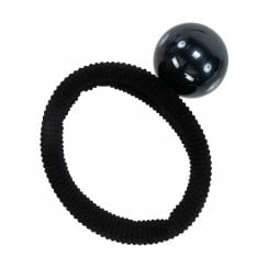 Pico MOLLY Pearl Elastic Hair Tie Black