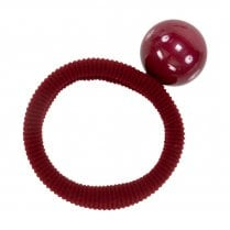 Pico MOLLY Pearl Elastic Hair Tie Red