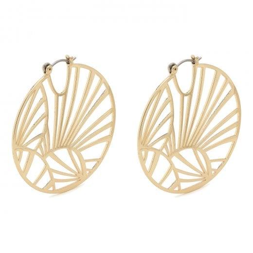Pilgrim Asami Earrings - Gold