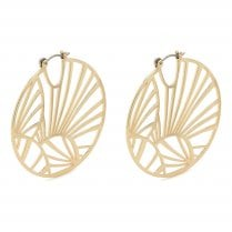 Pilgrim Asami Earrings - Gold