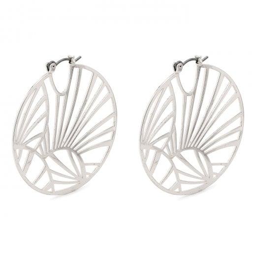Pilgrim Asami Earrings - Silver
