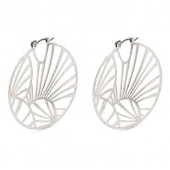 Pilgrim Asami Earrings - Silver