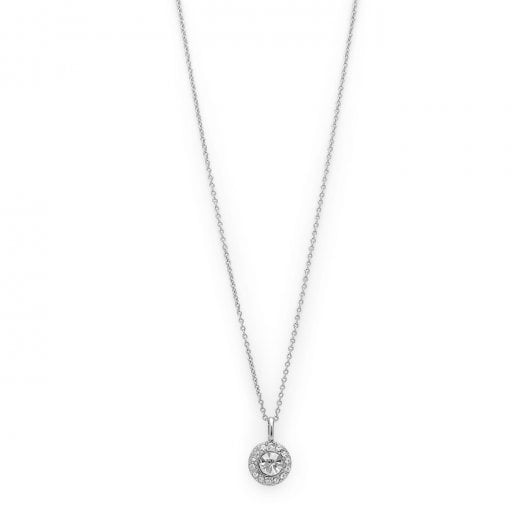 Pilgrim Clementine Necklace - Silver Plated
