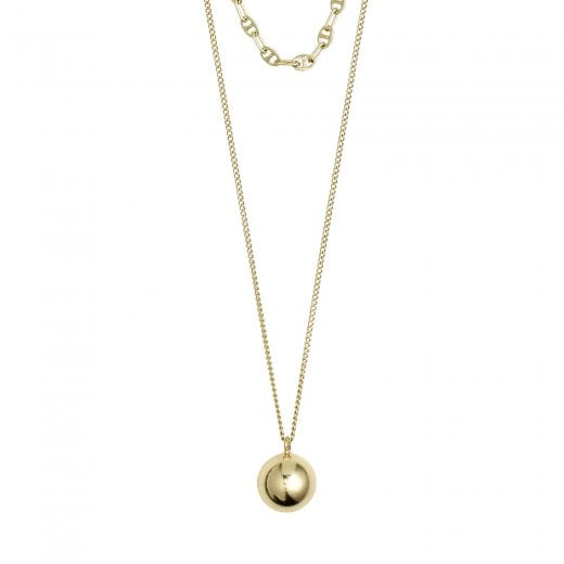Pilgrim Earth Necklace-Gold Plated