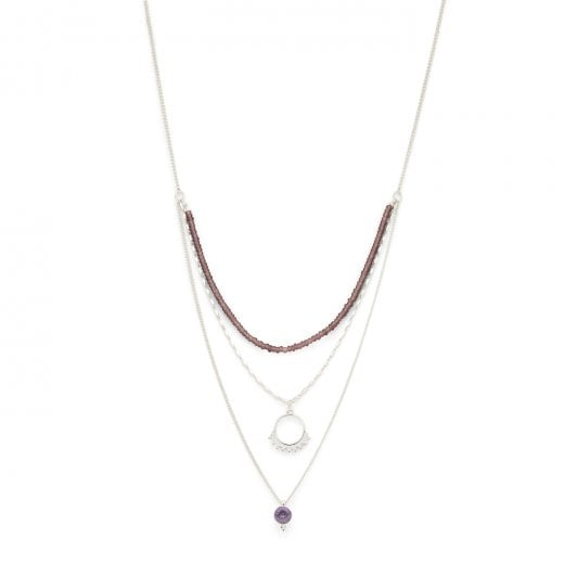 Pilgrim Kiku Silver Plated Necklace