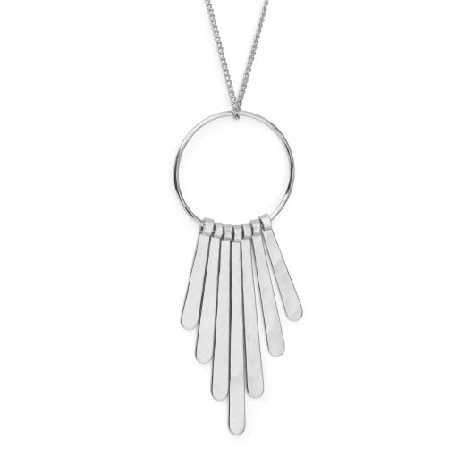 Pilgrim Linea Necklace - Silver Plated