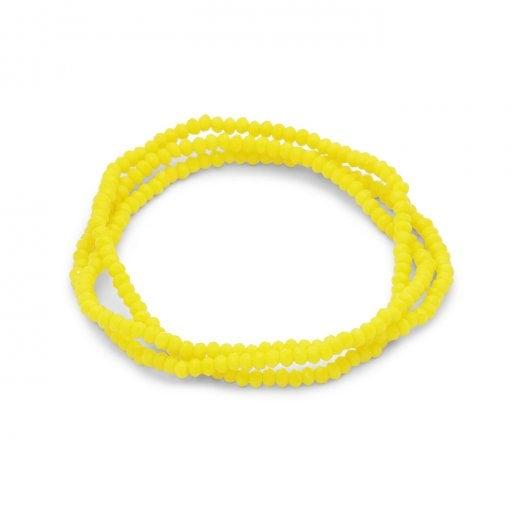 Pilgrim Lua Yellow Bracelet