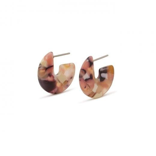 Pilgrim Mika Purple Earrings