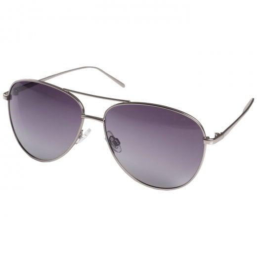 Pilgrim Nani Hematite Sunglasses - Grey