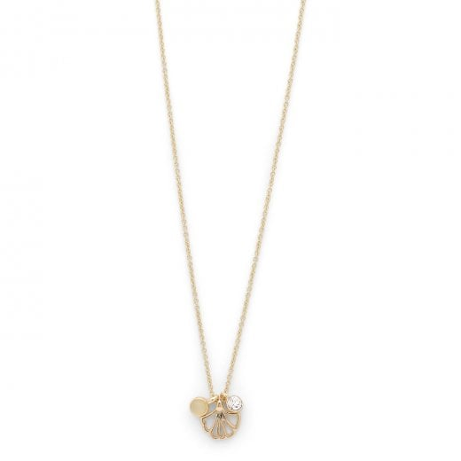 Pilgrim Saki Gold Plated Necklace