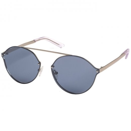 Pilgrim Silver Plated Zadie Sunglasses - Blue