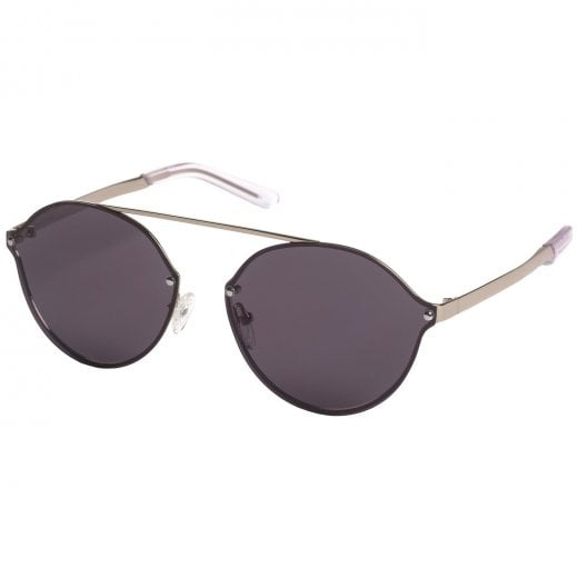 Pilgrim Silver Plated Zadie Sunglasses - Grey