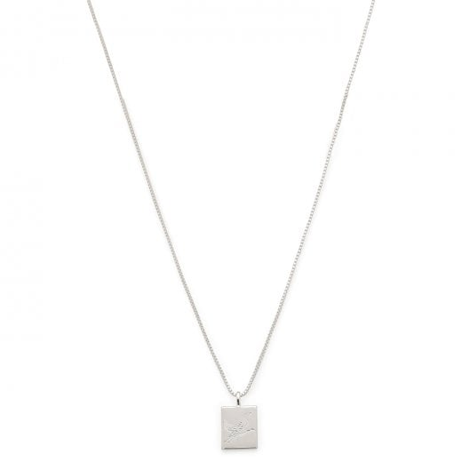 Pilgrim Tana Necklace - Silver Plated