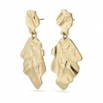 Pilgrim Valkyria Gold Plated Earrings