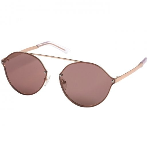 Pilgrim Zadie Rose Gold Plated Sunglasses - Rose