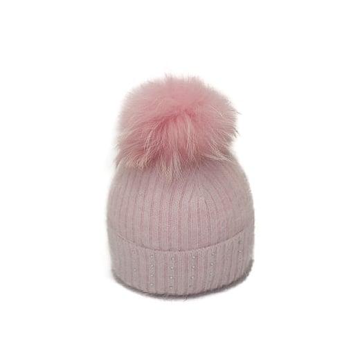 Pom Pom Poodle Jessie Hat - Pink
