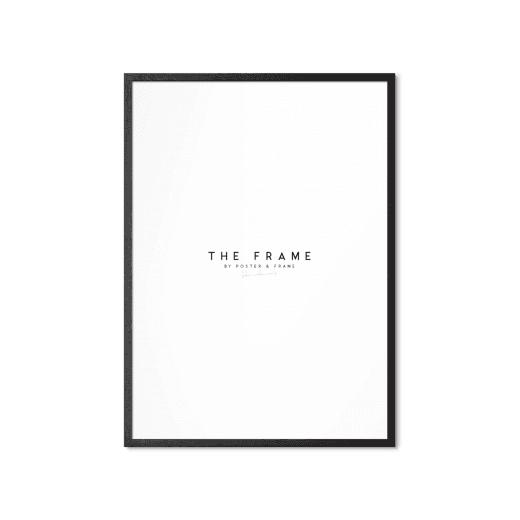 Poster & Frame Black Oak 30X40cm