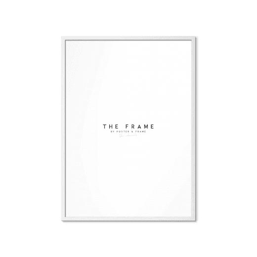 Poster & Frame White Oak A4