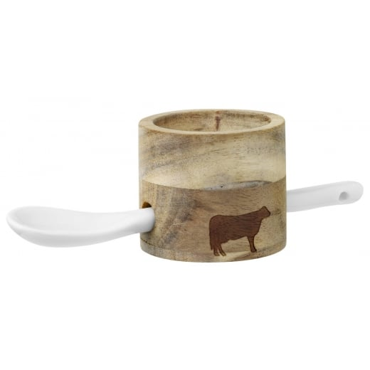 Räder Wood Egg Cup Set