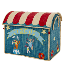 Rice Large Circus Theme Toy Basket