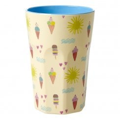 Rice Large Melamine Cup - Summer Print