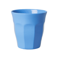 Rice Medium Melamine Cup in Dark Blue