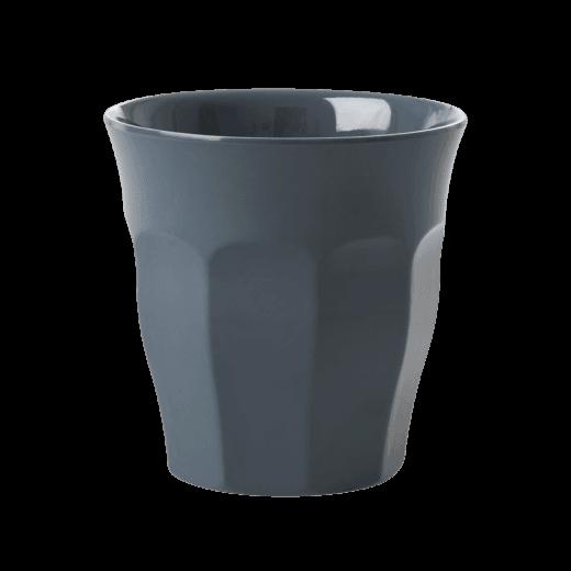 Rice Medium Melamine Cup in Dark Grey