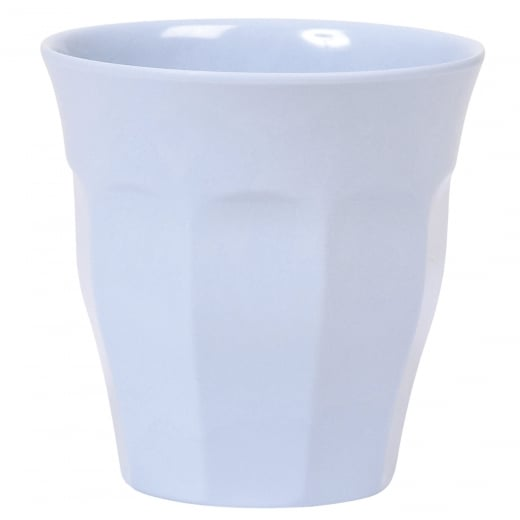 Rice Medium Melamine Cup In Soft Blue