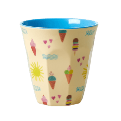 Rice Medium Melamine Cup - Summer Print